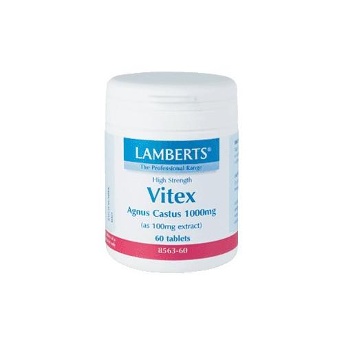 VITEX AGNUS CASTUS 60 CAP LAMBERTS