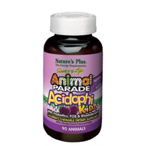 ANIMAL PARADE ACIDOPHIKIDZ 90 COMP MAST NATURE'S PLUS
