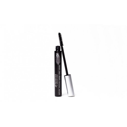 NAETURA NATURAL MASCARA SUPER LONG LASHES CARBON BLACK