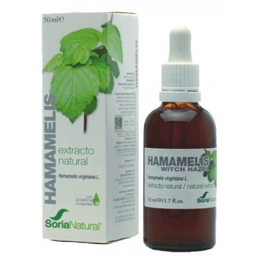 HAMAMELIS EXTRACTO 50 CC. SORIA NATURAL