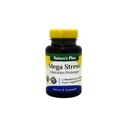 MEGA STRESS 30 COMP NATURE'S PLUS