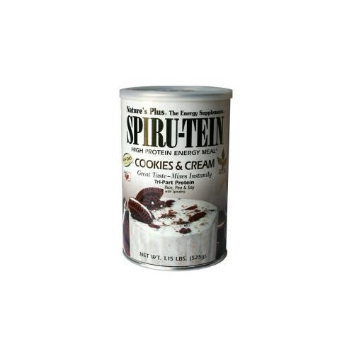 SPIRU-TEIN COOKIES AND CREAM 525 G NATURE'S PLUS