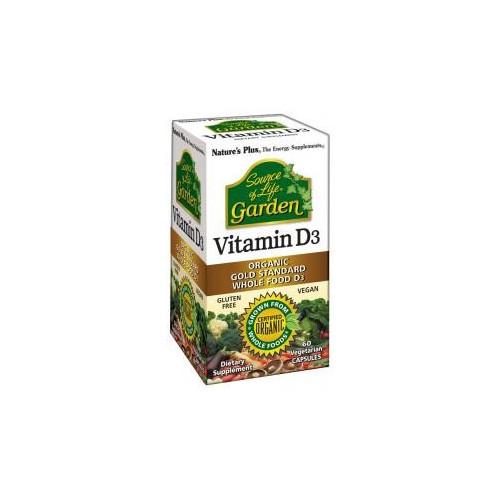 VITAMINA D-3 (COLECALCIFEROL) 62,5 MCG 60 CAP VEG NATURE'S P