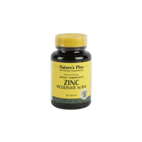 ZINC PICOLINATO 30 MG 120 COMP NATURE'S PLUS
