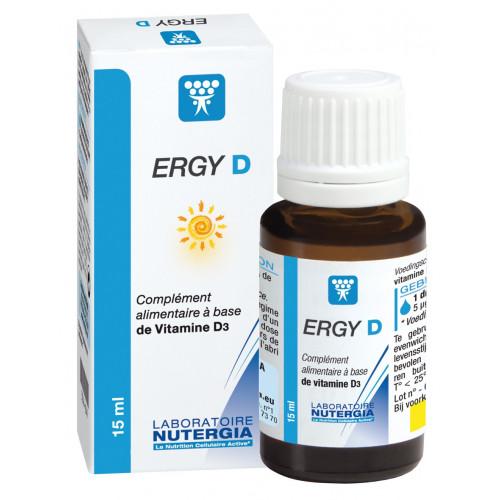 ERGY-D VITAMINA D3 COLECALCIFEROL 200 UI ( 5 MCG) / GOTA 15CC