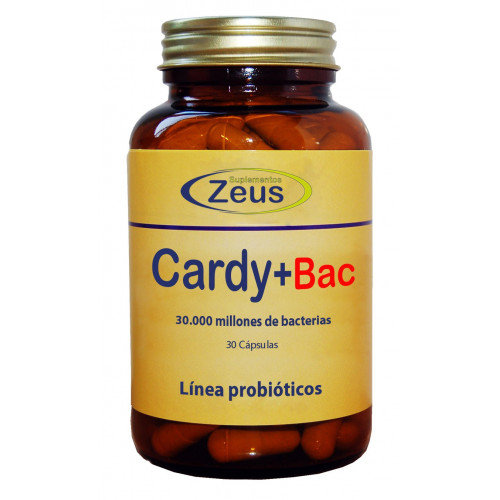 CARDIO+BAC 30 CAP ZEUS