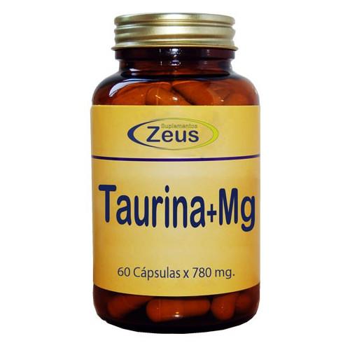 TAURINA MAGNESIO 60 CAP ZEUS