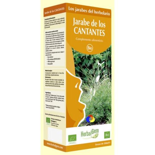 JARABE DE LOS CANTANTES BIO 250 CC HERBALGEM