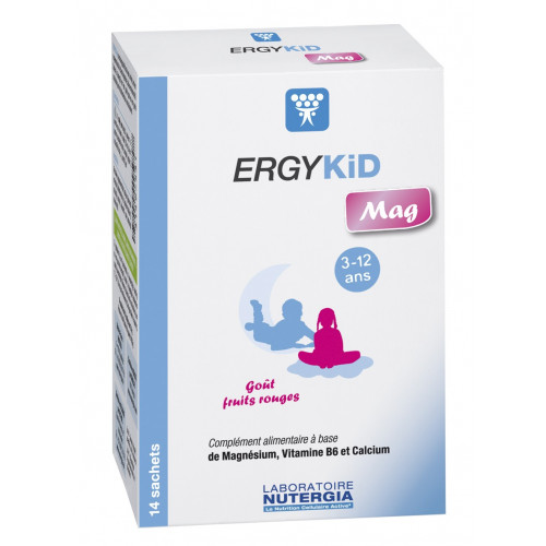ERGYKID MAG 14 SOBRES NUTERGIA