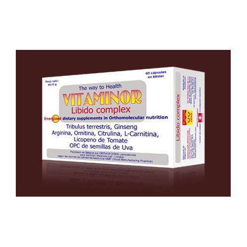 LIBIDOCOMPLEX (VOLUPTOCPLX) 60 COMP ORTHOCOMPLEXE