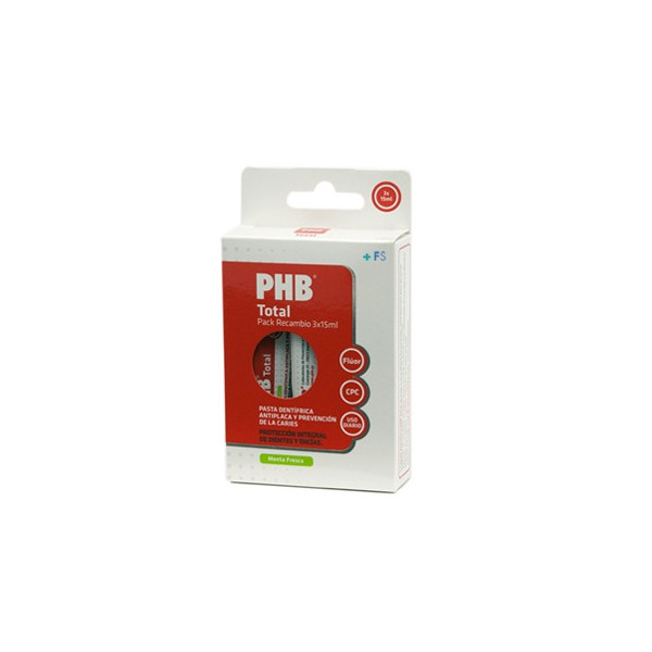 PHB SENSITIVE PACK RECAMBIO 3X15ML