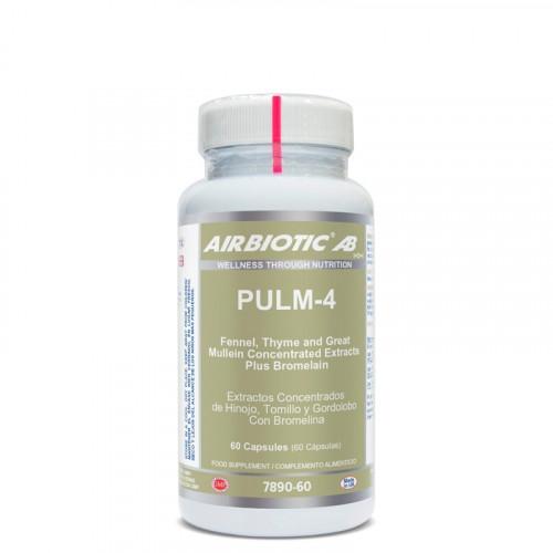 PULM-4 60 CAP AIRBIOTIC