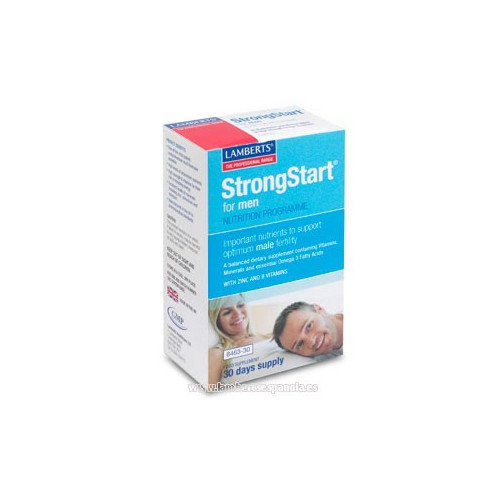 STRONG STAR PARA HOMBRES 30 COMP + 30 CAP LAMBERTS