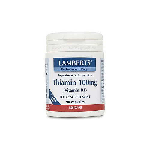 TIAMINA (VITAMINA B-1) 100 MG 90 CAP LAMBERTS