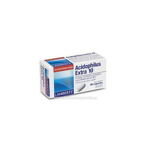 ACIDOPHILUS EXTRA 10 30 CAP.LAMBERTS