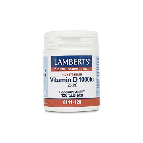 VITAMINA D 1000 UI 120 COMP LAMBERTS
