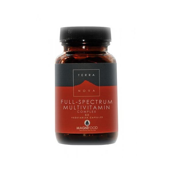 MULTINUTRIENTE COMPLETO(FULL SPECTRUM MULTIV)100C TERRANOVA NUTRINAT