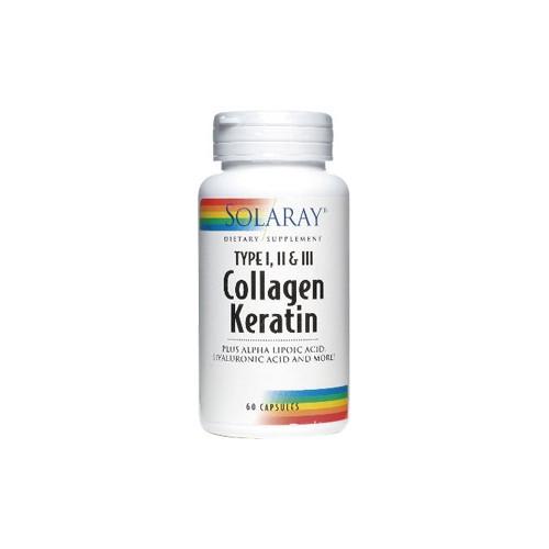 COLLAGEN KERATIN 60 CAP SOLARAY