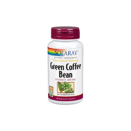 GREEN COFFEE CAFE VERDE 400 MG SOLARAY
