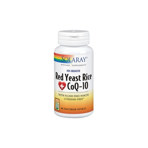 RED YEAST RICE PLUS COQ 10 60 CAP.SOLARAY