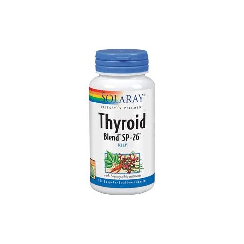 THYROID BLEND 100 CAP SOLARAY