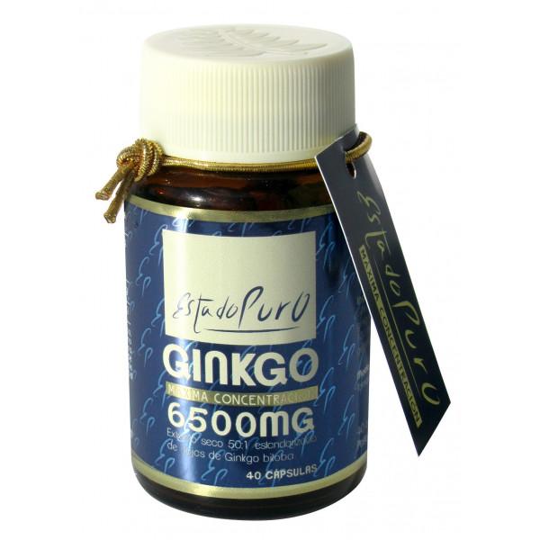 GINKGO 6500 MG 40 CAP ESTADO PURO TONGIL