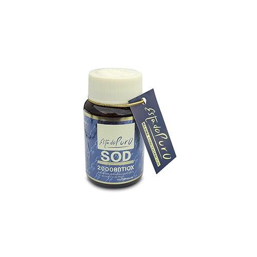 SOD 2000 ANTIOX 400MG 40 CAP ESTADO PURO TONGIL