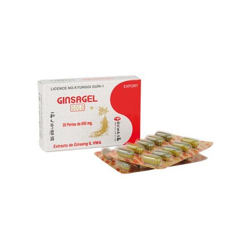 GINSAGEL  20 PERLAS. TONGIL