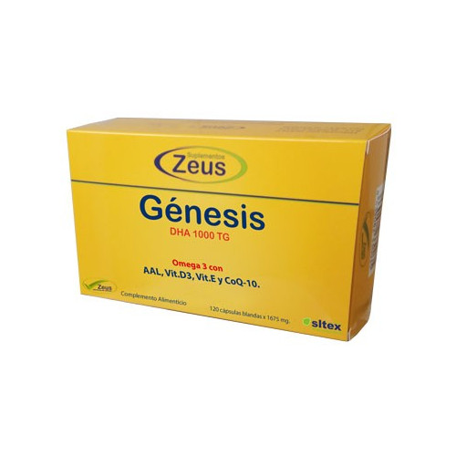 GENESIS DHA TG 1000 OMEGA 3 30 CAP ZEUS
