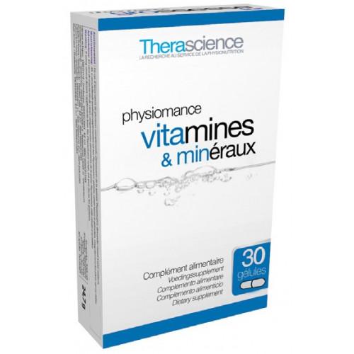 VITAMINAS MINERALES 30 CAP PHYSIOMANCE THERASCIENCE