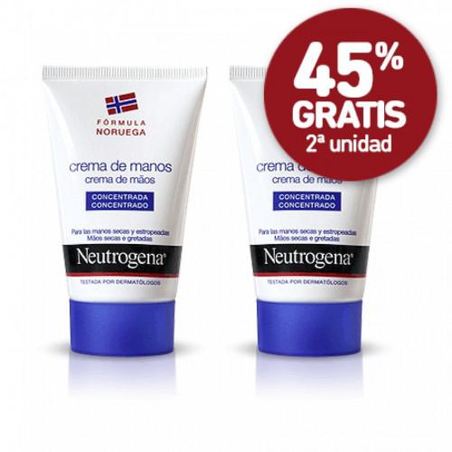 NEUTROGENA PACK DUPLO CREMA DE MANOS CONCENTRADA 50 ML