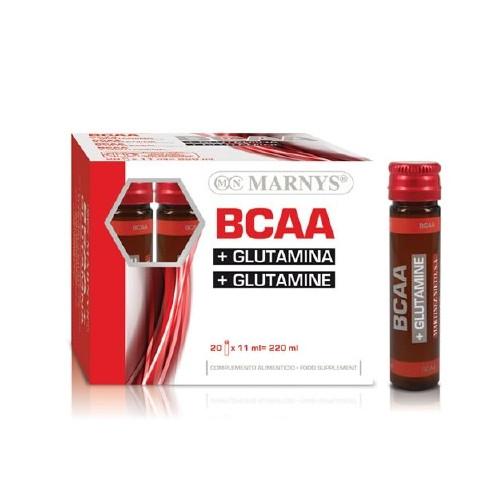 BCAA GLUTAMINA 20 VIALES MARNYS