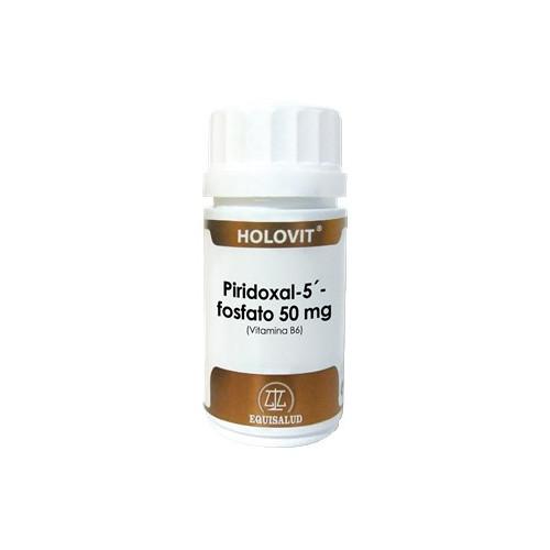 HOLOVIT PIRIDOXAL (VIT B6) 50CAP EQUISALUD