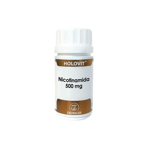 HOLOVIT NICOTINAMIDA 500MG 50CAP EQUISALUD