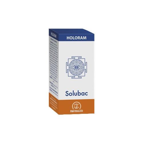 HOLORAM SOLUBAC 60 CAP EQUISALUD
