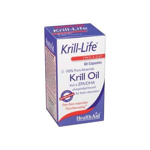KRILL-LIFE 60 CAP HEALTH AID NUTRINAT