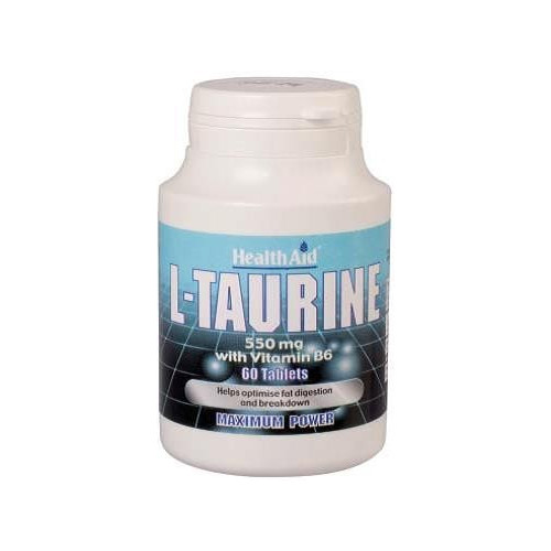 TAURINA 550. CON VIT B6 MG 60 COMP HEALTH AID NUTRINAT