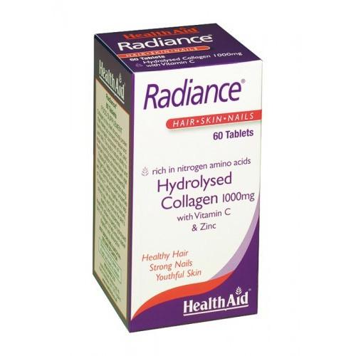 RADIANCE (COLAGENO HDROLIZADO CON VIT C) 60 COMP HEALTH AID NUTRINAT