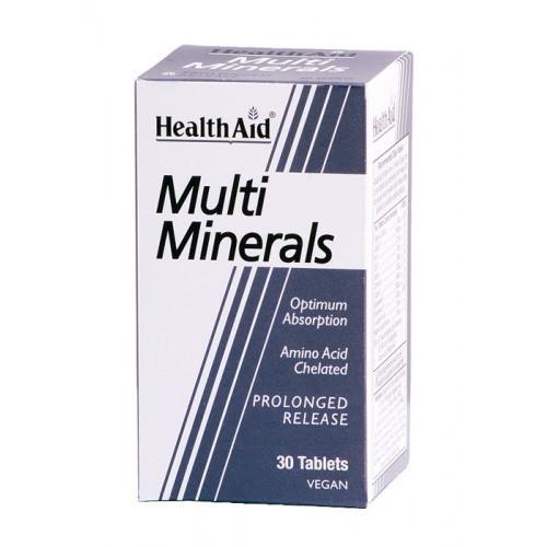 MULTI MINERALS 30 COMP HEALTH AID NUTRINAT
