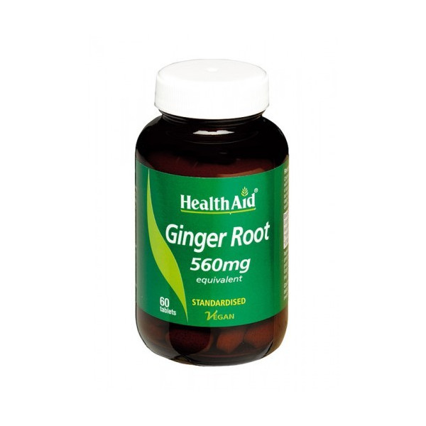 JENGIBRE ROOT (ZINGIBER OFF.) 138MG 60 CAP HEALTH AID NUTRINAT