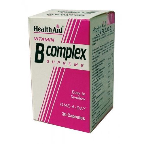 COMPLEJO B  30 CAP HEALTH AID NUTRINAT