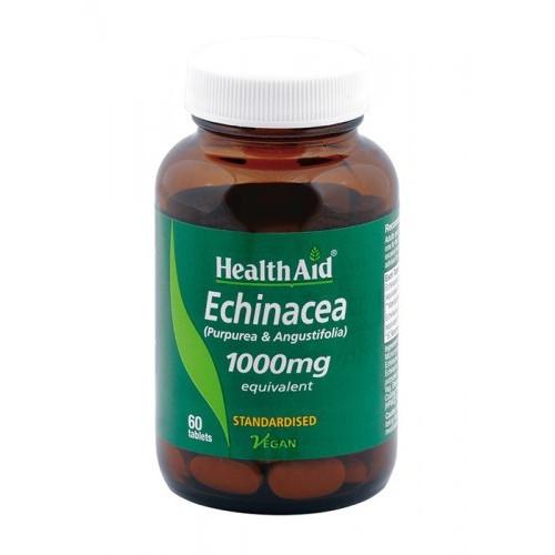 COMBINACION DE EQUINACEAS (E.ANGUSTIFOLIA/PURPUREA) 60 TABL HEALTH AID NUTRINAT