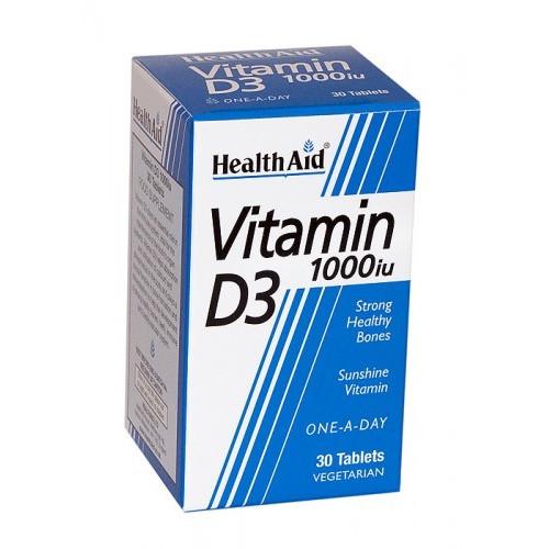 VITAMINA D 1000UI 30 COMP NUTRINAT