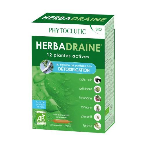 HERBADRAINE 20 AMPOLLAS NUTRINAT