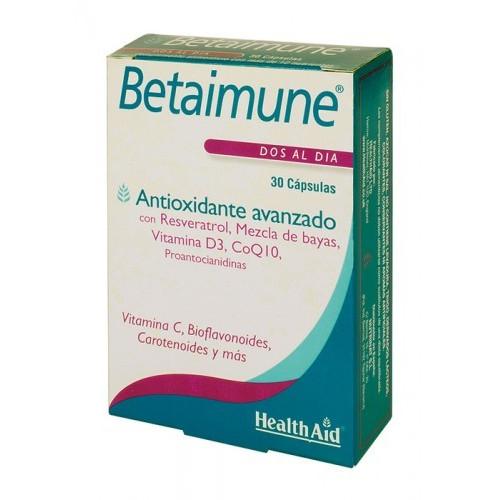 BETAIMUNE ANTIOXIDANTE AVANZADO 30 CAP HEALTH-AID NUTRINAT