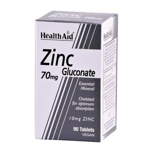 ZINC GLUCONATO 70MG 90TABL NUTRINAT