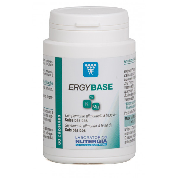 ERGYBASE ( SALES BÁSICAS ) 60 CAP NUTERGIA