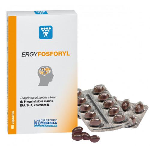 ERGYFOSFORYL ( FOSFOLÍPIDOS+OMEGA3) 60 PERLAS NUTERGIA