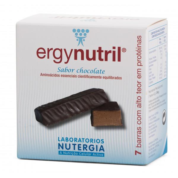 ERGYNUTRIL BARRAS CHOCOLATE 7 U NUTERGIA