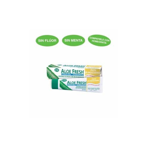 ALOE FRESH DENTIFRICO SALVIA REGALIZ COMPAT HOMEOP 100 ML TR
